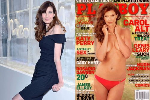 Carol Alt is glad she posed nude for Playboy while she had the chance