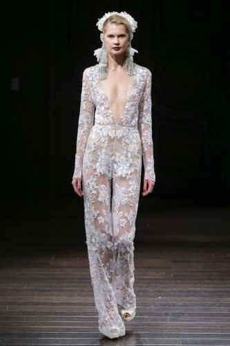Bridal Party: Naeem Khan NYFW Bridal