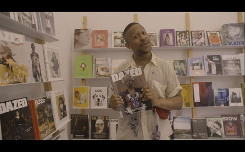 Watch Mykki Blanco visit his favourite magazine store