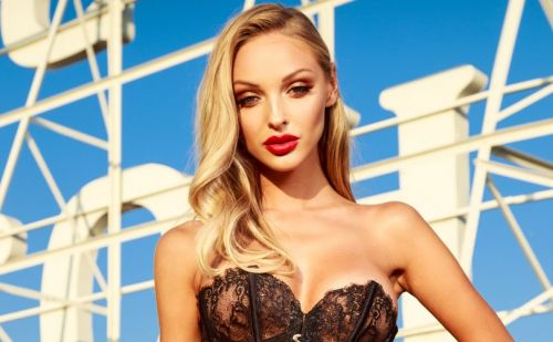 Honey Birdette debuts limited edition Chloe Black corset