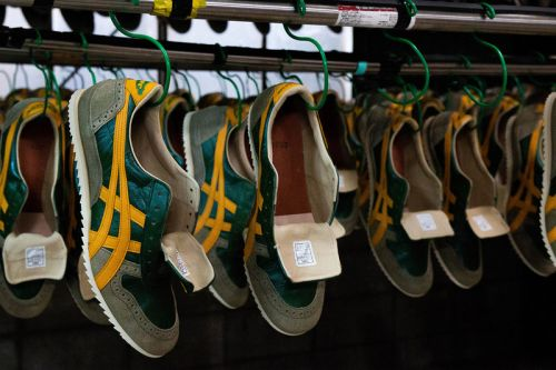A Behind-The-Scenes Look at Onitsuka Tiger's Nippon-Made Factory