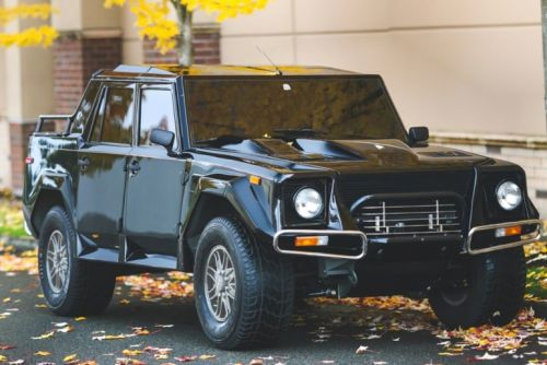 First-Ever Lamborghini SUV From the '90s Sells for $467,000 USD