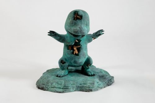 """Daniel Arsham Pits Pokémon Against Classical Works in """"Time Dilation"""" Exhibition"""