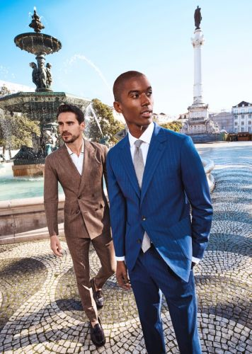 Claudio, Arthur + More Head to Portugal in Bonobos Spring '20 Collection