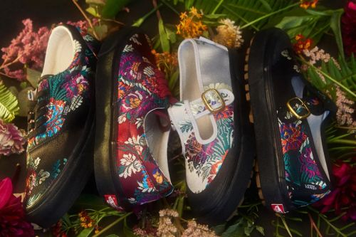 """Opening Ceremony x Vans Release the """"Satin Floral"""" Pack"""
