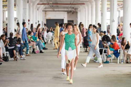 Eckhaus Latta Leans Into Its Strengths for Spring 2019