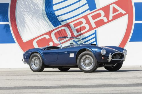Carroll Shelby's Personal Car Collection Is Going up for Auction