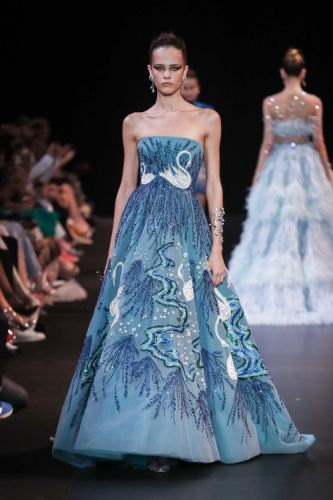 GEORGES HOBEIKA's Haute couture Autumn Winter 2018/19 collection