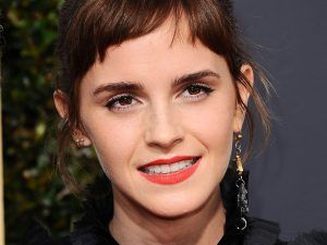 Why Everyone Is Talking About What Emma Watson Did At The Golden Globes