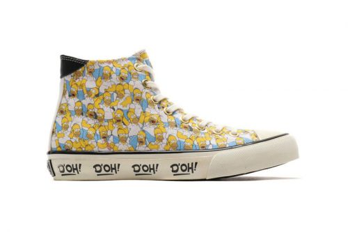 UBIQ Shares Footwear Collection Dedicated to 'The Simpsons'