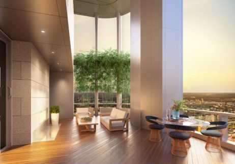 Penthouse, Four Seasons Private Residences, One Dalton Street, Boston
