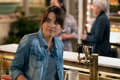 Natalie Morales shows off her bartending skills on 'Abby's'