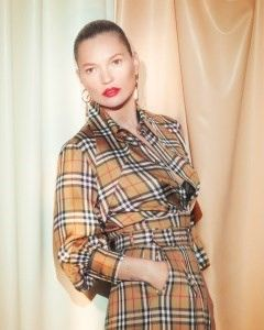 Kate Moss fronts the new Vivienne Westwood & Burberry campaign