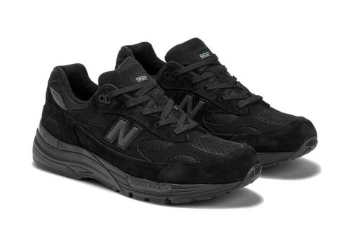 New Balance's Made in the USA 992 Is Back in Black