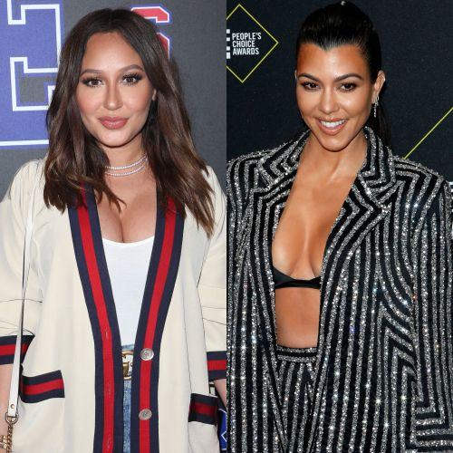 Adrienne Bailon Unboxes an Epic Holiday Package From Kourtney Kardashian: 'Love This!'