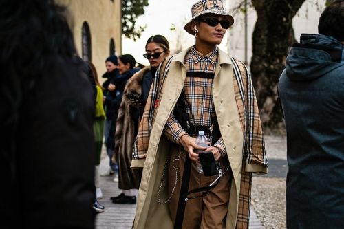 Street Style at Pitti Uomo Shows How to Fashionably Deal With the Cold