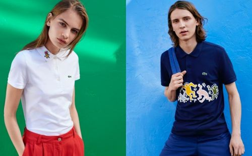 In Pictures: Lacoste x Keith Haring
