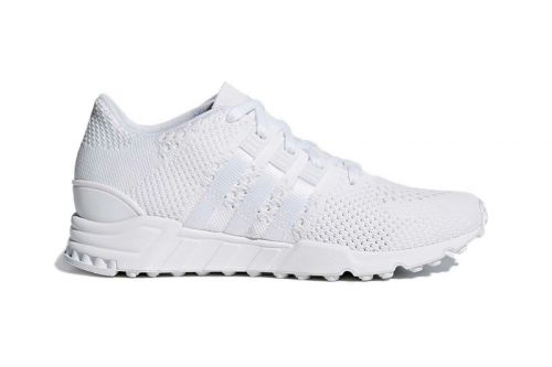 """The adidas EQT Support RF Primeknit Arrives in A """"Triple White"""" Colorway"""