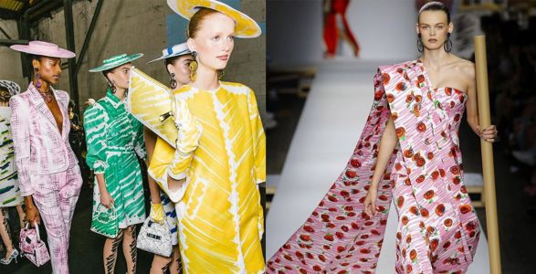 Five standout moments from Moschino's SS19 show