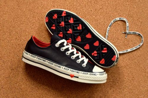 Converse Celebrates Valentine's Day With Heart-Filled Chuck 70 Low