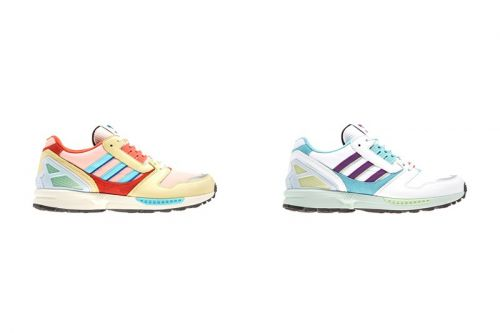 "Adidas Readies For Easter With ZX 8000 ""Vapour Pink"" & ""White/Turquoise"""