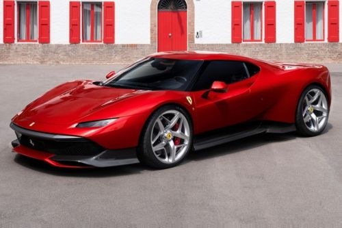 Ferrari Debuts SP38 Supercar Made for One Customer Only