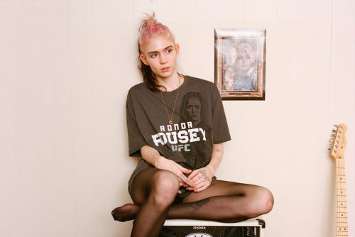 """Grimes Appears on Jimmy Urine's New Song, """"The Medicine Does Not Control Me"""""""