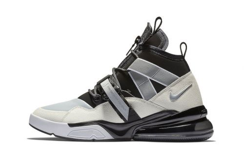 "Nike Set to Drop the Air Force 270 Utility in a Clean ""Black Sail"" Colorway"