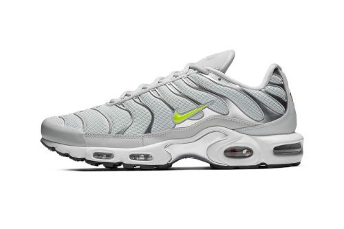 "The Nike Air Max Plus Arrives in a ""Grey/Volt"" Colorway"