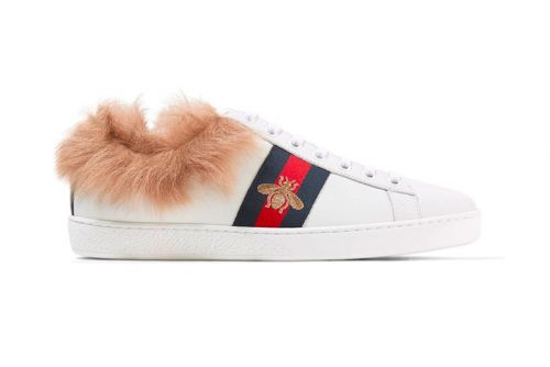 Gucci's Ace Sneaker Cozies up With Lamb Fur Lining for Winter