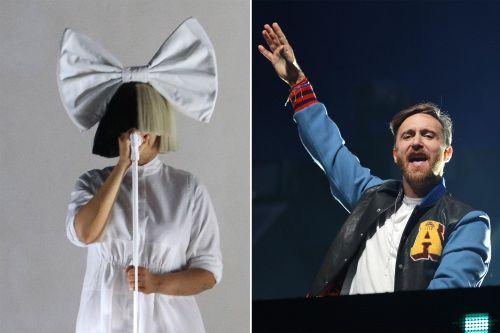 David Guetta teams up with Sia on hot new single 'Flames'
