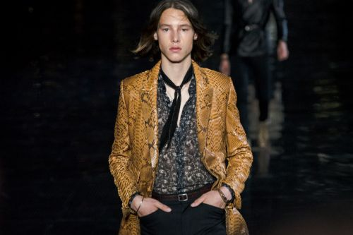 Saint Laurent's SS19 Show Was an NYC Glitterati Extravaganza