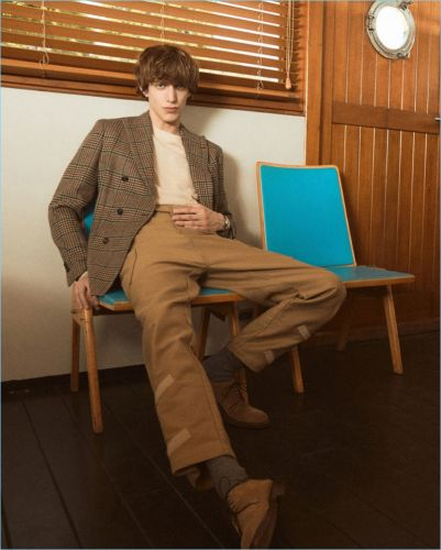 Dandy 2.0: Xavier Buestel Dons Fall Style for Vanity Fair Italia