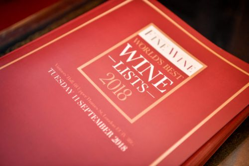 World of Fine Wine Announces Wine List Awards