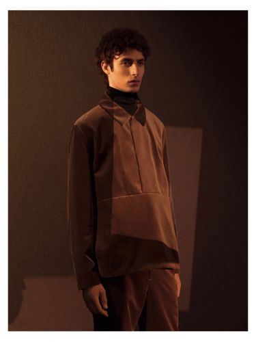 Oscar Kindelan Embraces Minimal Party Style in COS