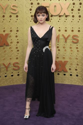 Maisie Williams' Starry Emmys Look is Super Badass