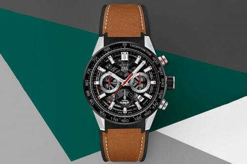 Tag Heuer Introduces Carrera Heuer 02 Watch