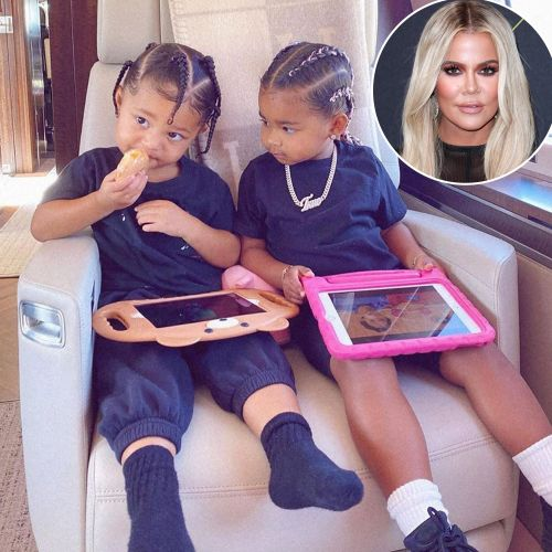 Khloe Kardashian's Daughter True Thompson Enjoys Playtime at Cousin Stormi Webster's Playhouse