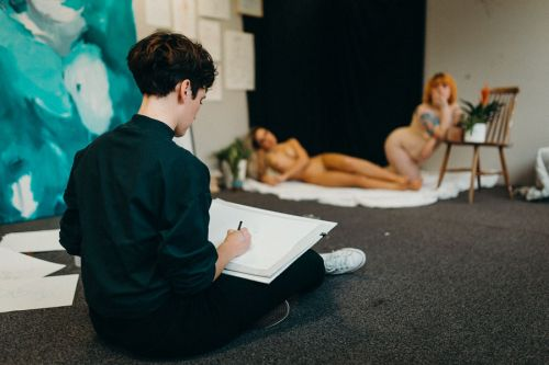 Artist and Her Muses