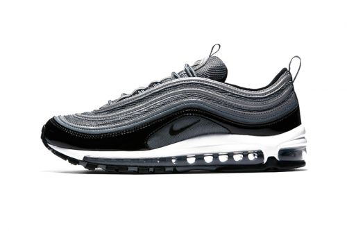 Nike Applies a Black Patent Leather Strip to the Air Max 97