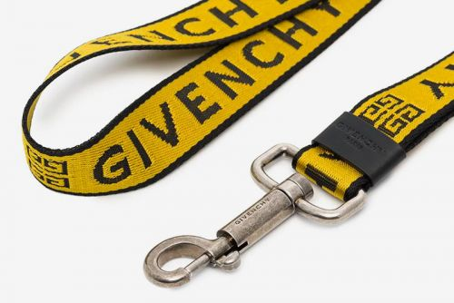 Givenchy Releases a Yellow & Black Industrial-Style Lanyard