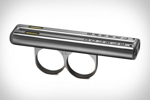 Double Barrel Creates a Unique Shotgun-Style Vaporizer