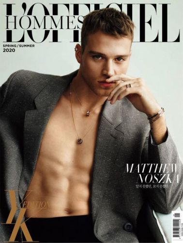 L'Officiel Hommes Korea