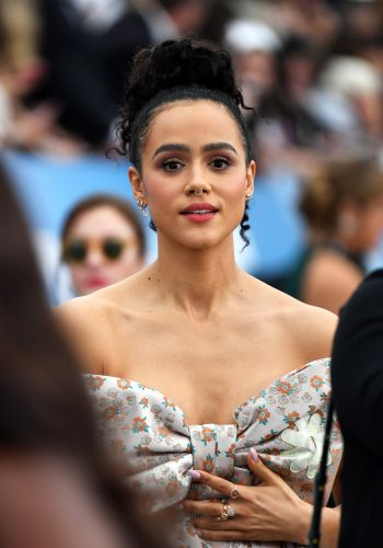 'Game Of Thrones' Actor Nathalie Emmanuel's SAG Look