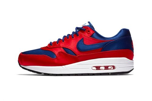"""Nike Applies a Sheen-Like Makeover to the Air Max 1 in New """"Satin"""" Pack"""