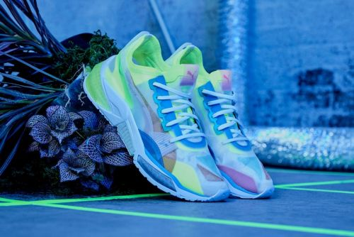 Neon Colors Illuminate PUMA's New LQD CELL Optic