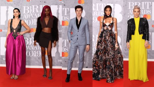 See What All of Your Favorite Celebrities Wore to the Brit Awards