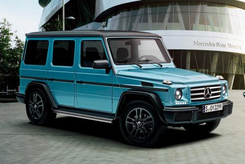Mercedes-Benz Introduces New Exclusive G-Class Models