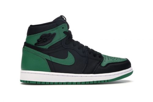 "StockX Expands Black Toe Lineup With Jordan 1 Retro High ""Pine Green Black"""