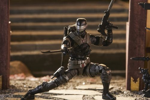 "Your First Look at Hasbro's ""G.I. Joe Classified"" Snake Eyes Figure"